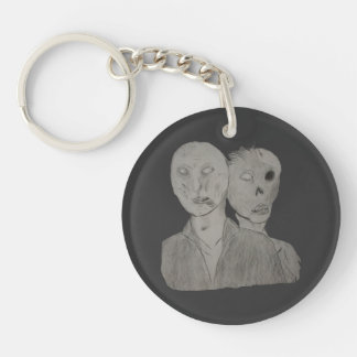 Two Zombies Keychain