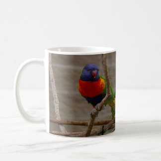 Two zoo birds. Love one another, John 15:12 Mugs