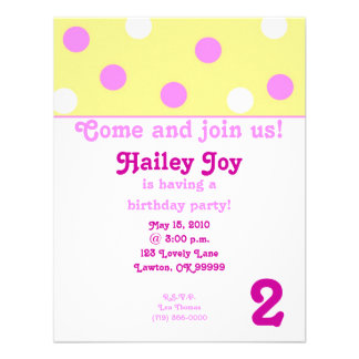 twodotbday copy, 2, Come and join us!, Hailey J... Custom Announcement
