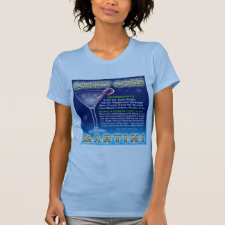 Twofer Tees - Candy Cane Martini Art