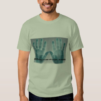 twohands abstract3 remera