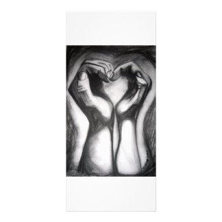 twohands - un corazón lona
