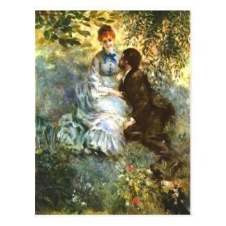 Twosome by Pierre Renoir Postcard