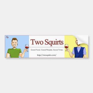 TwoSquirts Bumper Sticker
