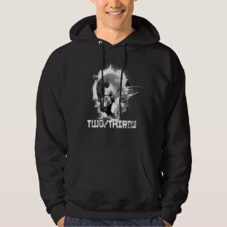 TwoThirds - Grunge Skull Hoodie