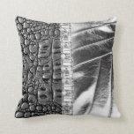 TwoToned Metallic Leather Rhinestone Pillow Set