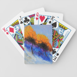twotrees97.JPG Bicycle Playing Cards