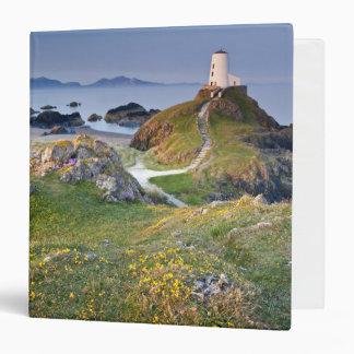 Twr Mawr Lighthouse On Llanddwyn Island 3 Ring Binder