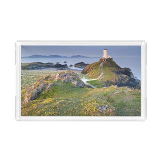 Twr Mawr Lighthouse On Llanddwyn Island Acrylic Tray