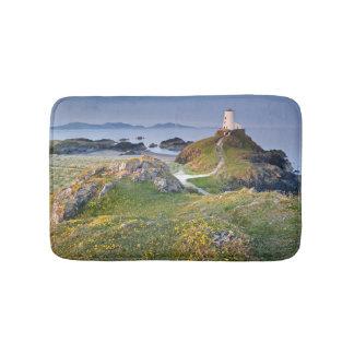 Twr Mawr Lighthouse On Llanddwyn Island Bath Mat
