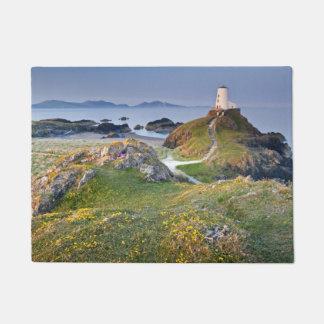 Twr Mawr Lighthouse On Llanddwyn Island Doormat