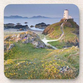 Twr Mawr Lighthouse On Llanddwyn Island Drink Coaster