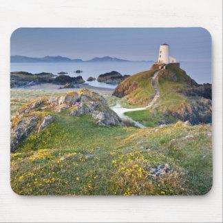 Twr Mawr Lighthouse On Llanddwyn Island Mouse Pad