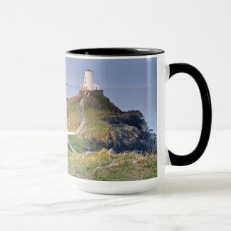 Twr Mawr Lighthouse On Llanddwyn Island Mug
