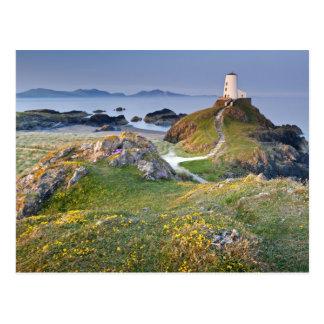 Twr Mawr Lighthouse On Llanddwyn Island Postcard