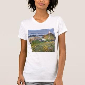 Twr Mawr Lighthouse On Llanddwyn Island T-Shirt