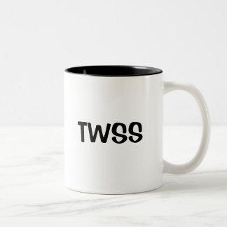 TWSS Two-Tone COFFEE MUG
