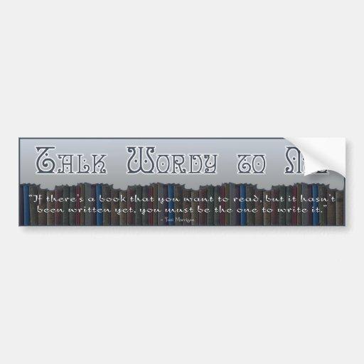 TWtM Book Bumper Sticker