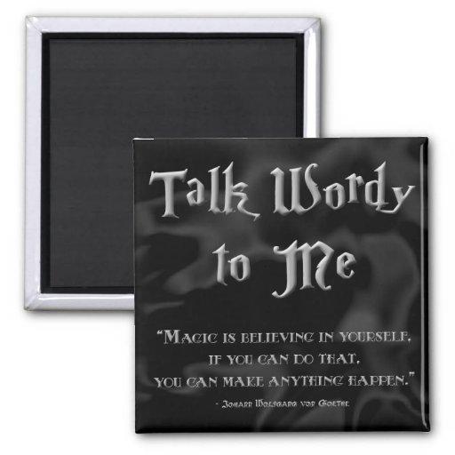 TWtM Magic Goethe Magnet