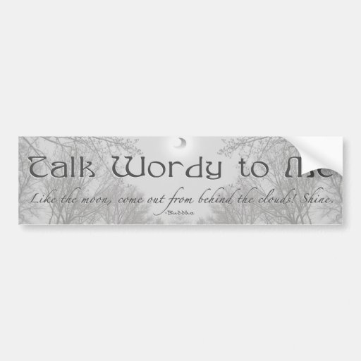 TWtM Zen Bumper Sticker