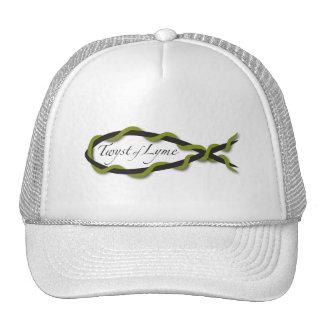 Twyst del gorra del estilo del camionero de Lyme