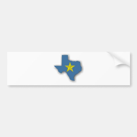 TX - A Blue State! Bumper Sticker