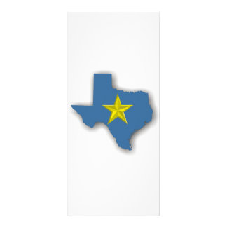 TX - A Blue State! Rack Card