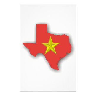 TX a Red State Stationery