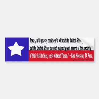 TX Can without US Bumper Sticker