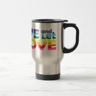 TX Live Let Love Travel Mug