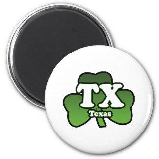 TX Shamrock Magnet