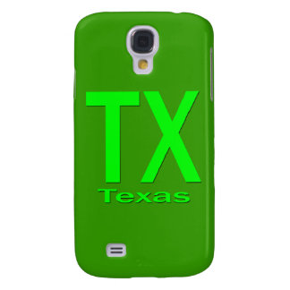 TX Texas plain green Samsung S4 Case