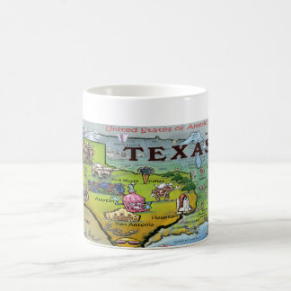 TX USA Map Coffee Mug