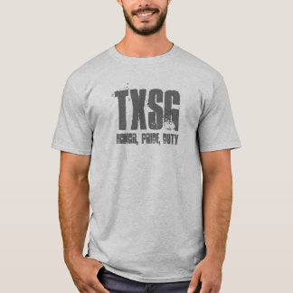 TXSG, Honor, Pride, Duty-pt shirt