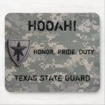 ¡TXSG HOOAH! , Honor, orgullo, deber, - mousepad