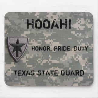 TXSG HOOAH!, Honor, Pride, Duty,- mousepad