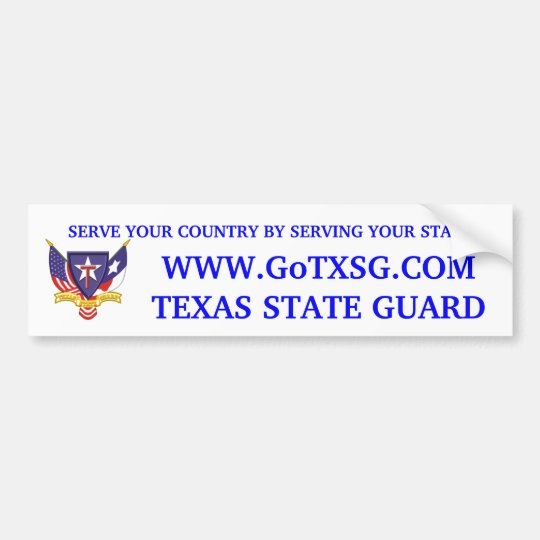 TXSG Recruiting Sticker