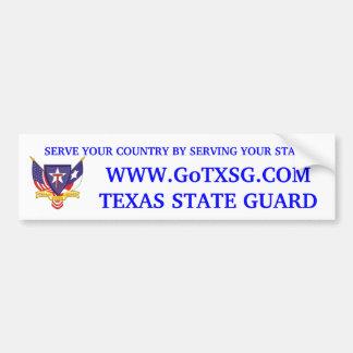 TXSG Recruiting Sticker Car Bumper Sticker