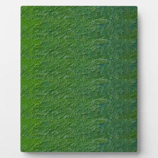 Txt de acrílico im de la PLANTILLA del verde DIY d