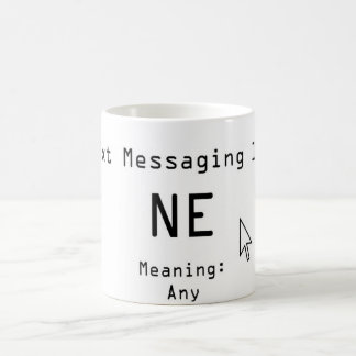 Txt Messaging 101 Magic Mug