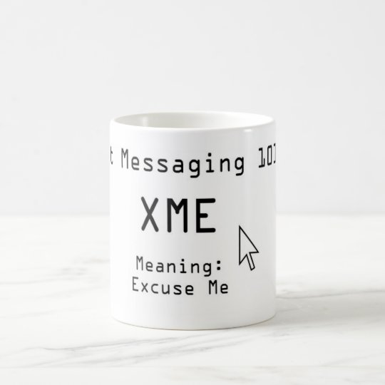 Txt Messaging 101 Magic Mug | Zazzle.com