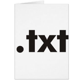 TXT Products & Designs! Greeting Card