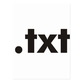 TXT Products & Designs! Postcard