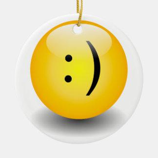 Txt Smiley & Sad Ornament