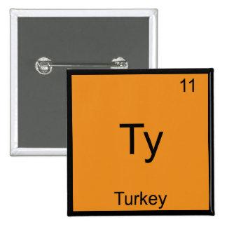 Ty - camiseta divertida de la química de Meme del  Pin