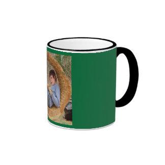 Ty in a log mug