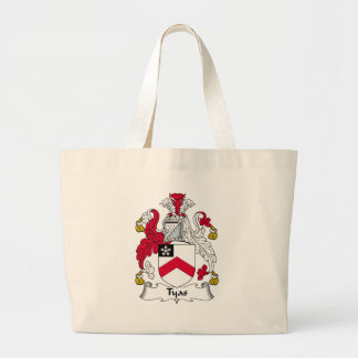 Tyas Family Crest Tote Bag