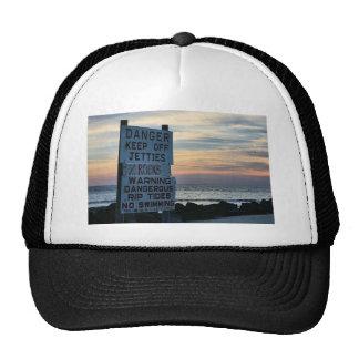 Tybee Beach Savannah, GA Trucker Hats