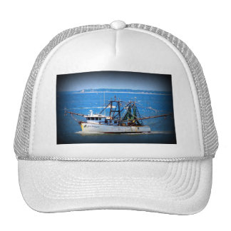 Tybee Boat Mesh Hats
