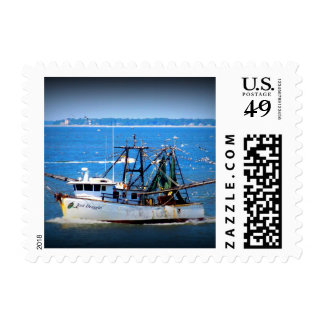 Tybee Boat Postage